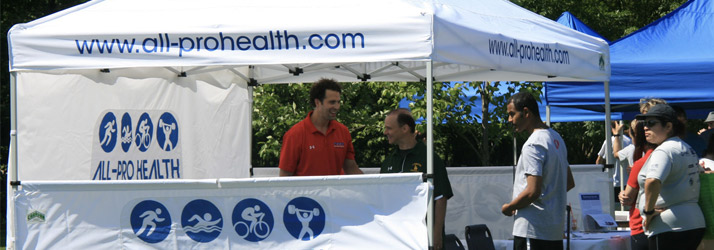 Chiropractor Livingston NJ Todd Schragen Team Tent